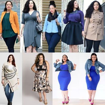 Как хорошо одеваться с лишним весом?